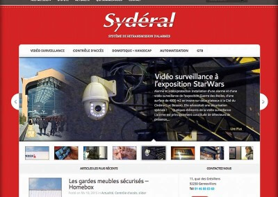 Sydéral, retransmission d'alarmes